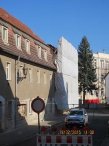 20150219 - Abriss Burg 13 sperrung